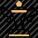 achievement, award, champion, sport, trophy icon