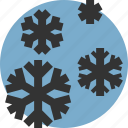 snow, snowflakes, weather, winter icon