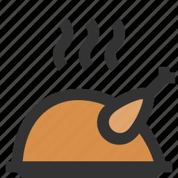chicken, festive, food, turkey icon
