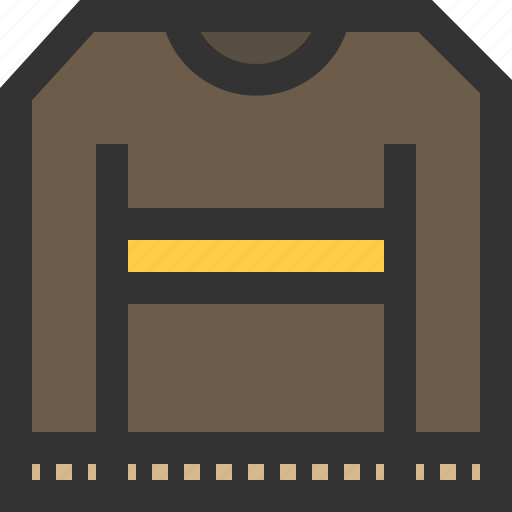 clothe, jacket, pullover, sweater icon