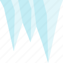 ice, icecicle, weather, winter icon