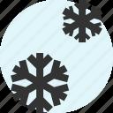 snow, snowflakes, weather, winter