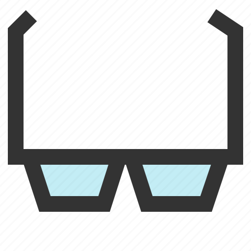 glasses, reading, shade, spectacles icon