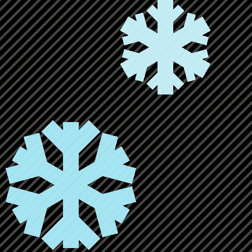 season, snow, snowflakes, winter icon