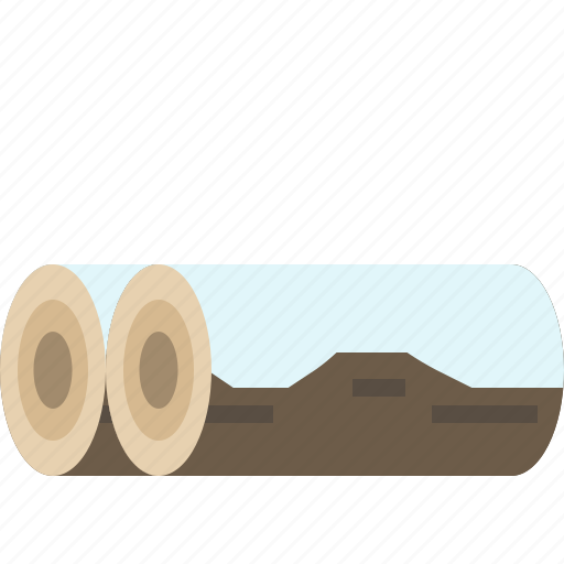 firewood, log, winter, wood icon