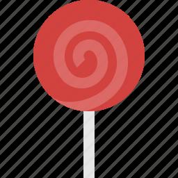 candy, caramel, lollipop, sweet icon