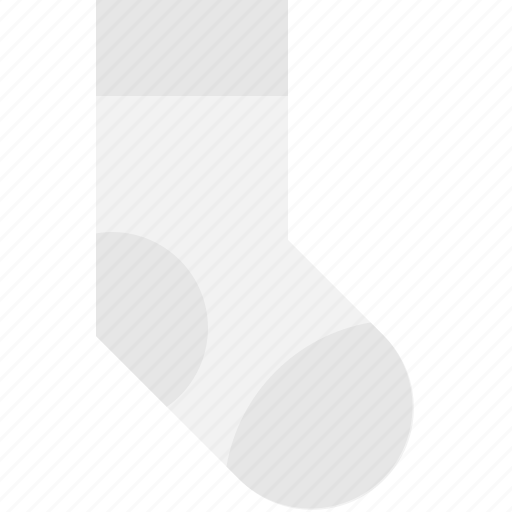 clouthe, footwear, knitted, sock icon