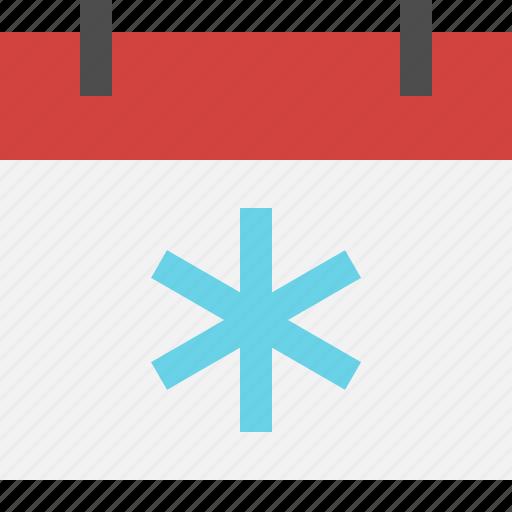 calendar, event, holiday, winter icon