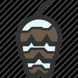 cone, forest, pine, winter icon