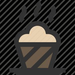 brownie, cake, cupcake, muffin icon