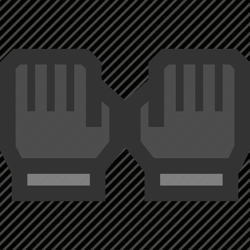 gloves, mittens, sport, warm icon