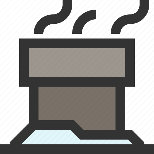 Building, chimney, smokey, structure icon - Download on Iconfinder