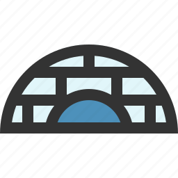 home, house, igloo, inuit icon