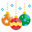 ball, bauble, christmas, decoration, element