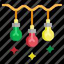 bulb, christmas, decoration, illumination, light