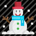 christmas, cold, man, snow, winter