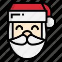 christmas, claus, santa, winter, xmas