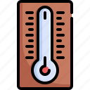climate, cloud, forecast, temperature, thermometer, weather icon