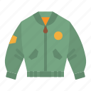 clothes, clothing, coat, fashion, jacket icon