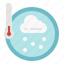 celsius, fahrenheit, temperature, thermometer, weather icon