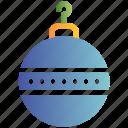 ball, christmas, decoration, ornament