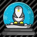 animal, christmas, penguin, snow, winter