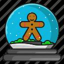 christmas, gingerbread, winter, xmas