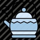 kettle, tea, teapot, hot, kitchen