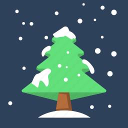 christmas, christmas tree, pine, pine tree, travel, tree, winter icon