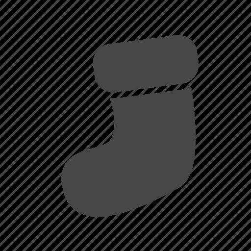 christmas, socks, xmas icon