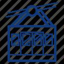 cable car, funicular, gondola, transport, transportation, travel, vehicle icon