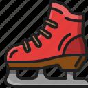ice, skate, shoe, footwear, sport, winter, activity
