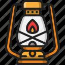 lantern, camping, light, fire, lamp, oil, outdoor