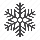 cold, crystal, ornament, snowflake, winter icon