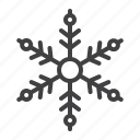 decoration, flake, ornament, snowflake, winter icon