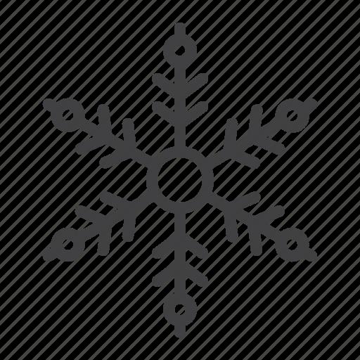 decoration, flake, ornament, snowflake, winter icon