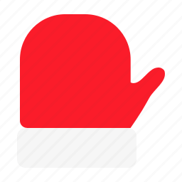 accessory, christmas, clothing, cold, glove, winter, wool icon