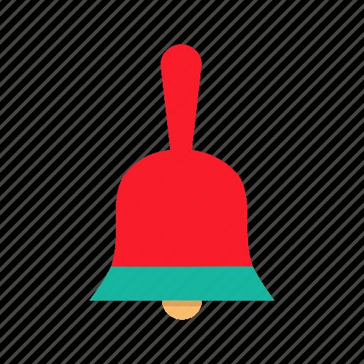 bell, christmas, jingle, procession, ring, santa, sound icon