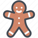 christmas, cookies, holiday, piparkook, sweetness, winter, xmas icon