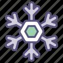 holiday, skating, snow, winter icon