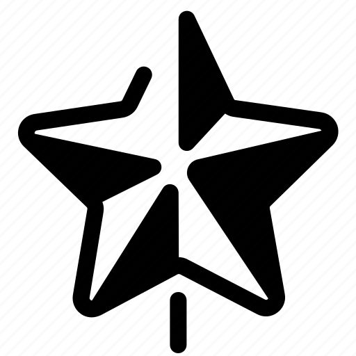 christmas, decoration, new, star, toy, winter, year icon