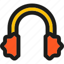 clothes, ear, earmuffs, equipment, headphone, winter icon