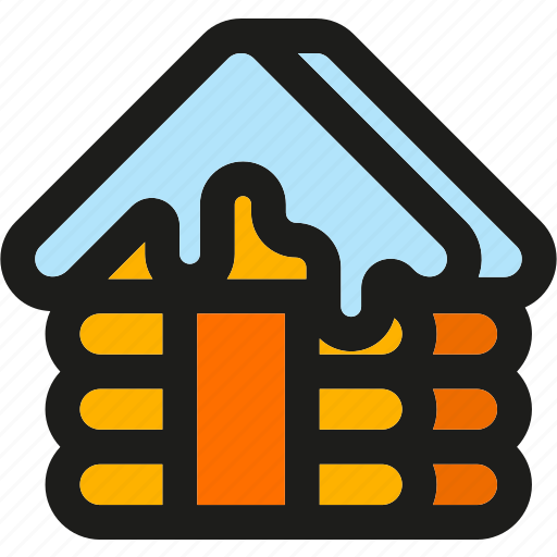 Cabin, building, home, house, wood, wooden icon - Download on Iconfinder