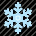 christmas, crystal, nature, snow, snowflakes, winter icon