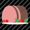 beef, roasted, hum, christmas, turkey, winter, cooking