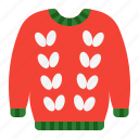 christmas, knit, sweater, tops, winter