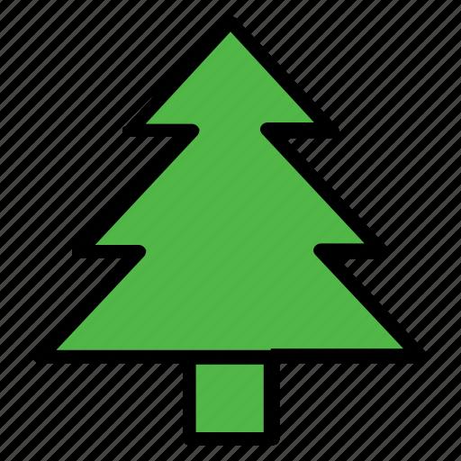 christmas, decoration, nature, plant, snow, tree, winter icon