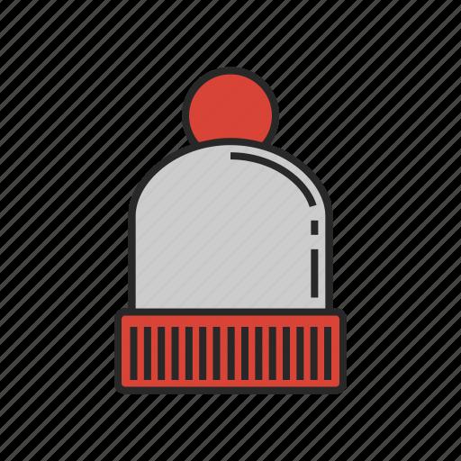 clothes, fashion, hat, winter icon