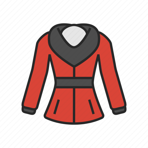 clothes, fashion, jacket, winter, womens icon