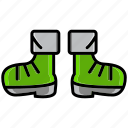 boots, cold, holiday, ice, shoe, winter icon